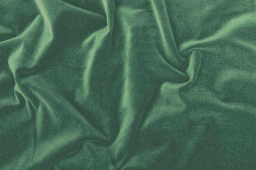 Möbelsamt-Stoff - Uni Grün