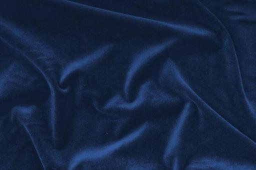 Möbelsamt-Stoff - Uni Blau