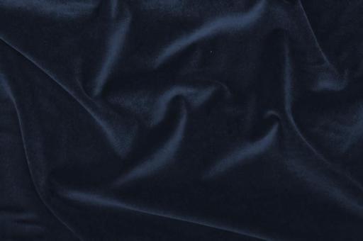 Möbelsamt-Stoff - Uni Nachtblau