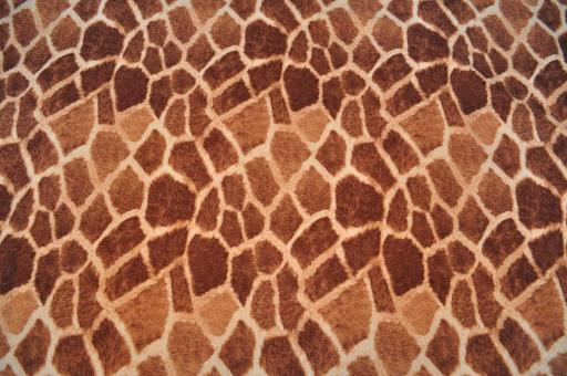 Wildleder-Imitat - Wilderness Giraffe