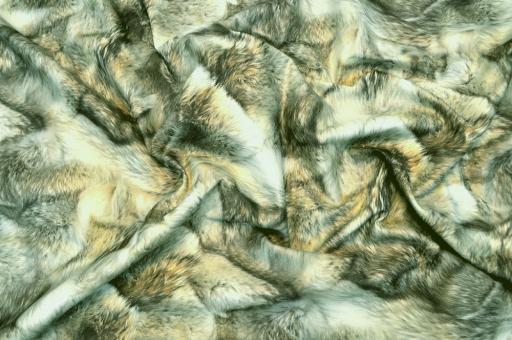 Wildleder-Imitat - Wilderness Wolfsfell