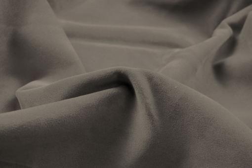 Echtleder Stück Velours -  Rocky Mountain Taupe