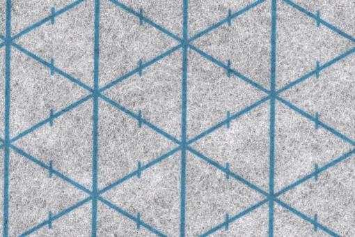 Rasterquick Dreieck - Weiß