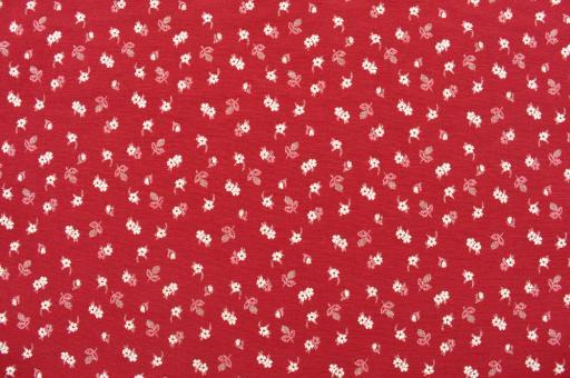 Polsterstoff Alpenblume