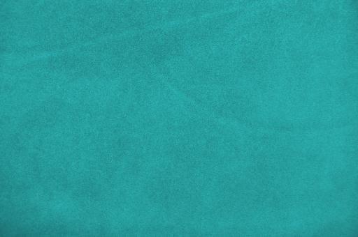 Echtleder Stück Velours -  Rocky Mountain Türkis